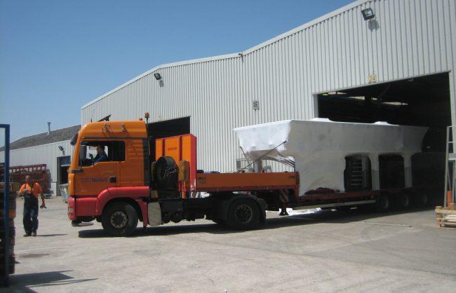 krimpfolie Machine-transport